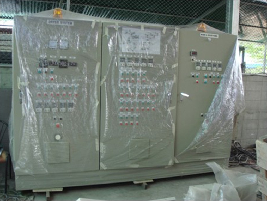 Mixer and Dryer electrical panel (All Equipments we use world class brand name).